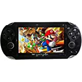 Grand Classic GCL-02 Multimedia 3D Game Player Console 4 GB with Built-In 10000 Games (Black)