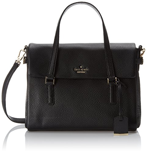 kate spade new york Holden Street Small Leslie Top Handle Bag Black One Size