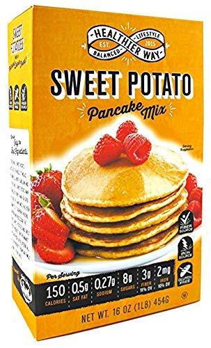 Healthier Way Gluten Free Sweet Potato Pancake Mix 16 oz