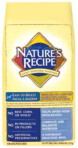 Natures Recipe 5 Lb Chicken Dry Dog Food  30521-800, My Pet Supplies