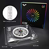 WF Upgrade USB Dream Color Cooling Fan Stand, LED