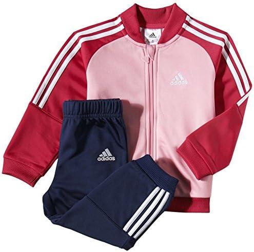 adidas I J PES Knit - Chándal para niños, Color Rosa/Negro/Blanco ...