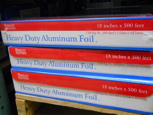 Berkley&jensen Heavy Duty Aluminum Foil 18x500