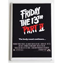 Friday the 13th Part 2 Movie Poster Fridge Magnet