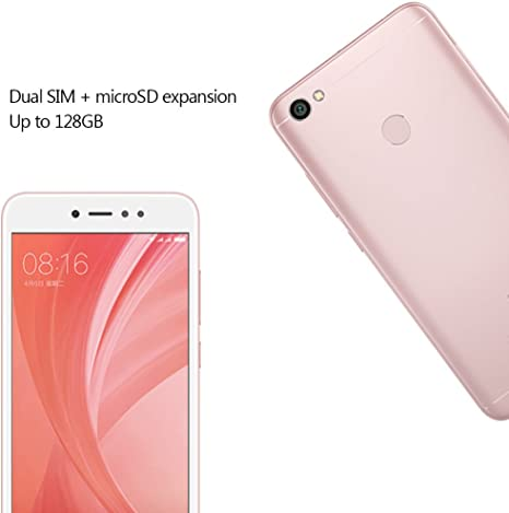 Xiaomi Redmi Note 5A - Móviles y Smartphones Screen 5.5, 4G, WiFi, Bluetooth, Snapdragon 435 1.4 GHz, 32 GB de ROM Ampliable, 3 GB de RAM, cámara 13 MP, Android MIUI, Dual-SIM Oro Rosado: Amazon.es: Electrónica