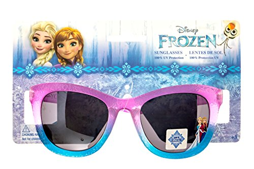 Disney Frozen Girl's Sunglasses in Purple and Blue 100% UV - In Girls Sunglasses