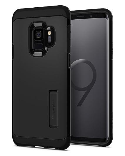 premium selection c50dd 7be8c Spigen Tough Armor Designed for Samsung Galaxy S9 Case (2018) - Black