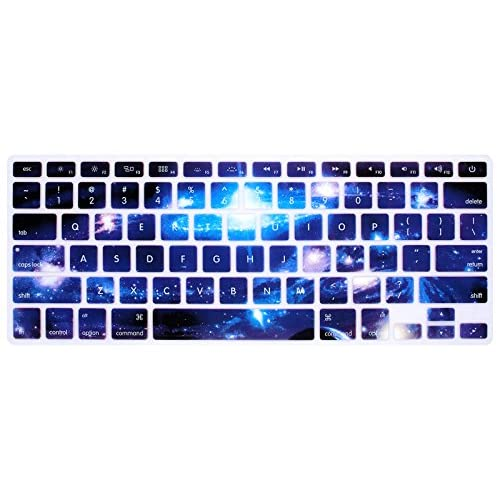 Swirl Starry Sky Keyboard Cover Silicone Skin Protector for Mac Air Pro 13 15 17