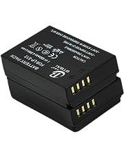 2X LP-E12 Battery Canon LPE12 EOS M M2 M10 M50 M100 Rebel SL1 100D Kiss X7