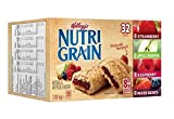 Kellogg's Nutri-Grain Cereal Bars, Variety Pack (32 Count)