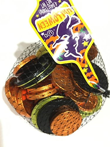 Netherlands Milk Chocolate Coins (Chocolate With Gold Wrapping)