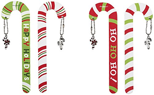- Ganz Gift Wrap Nail Files Set of 4 (Candy Canes)