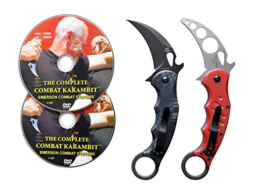 Emerson Karambit Trainer (Fox 479 Kryptek Typhon Karambit and Training Karambit)