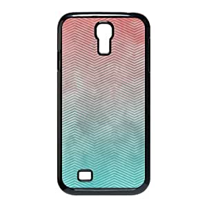 Godstore Custom New Style Colorful Chevron Pattern Cover SamSung Galaxy S4 I9500 Case