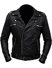 Negan Walking Dead S7 Jeffrey Dean Morgan Black Jacket