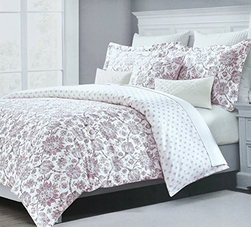 Tahari Home Vintage Damask Ornate Scroll Luxury Duvet
