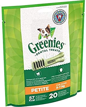 Greenies Snack Dental Petite para Perros de 7kg a 11kg (340g)