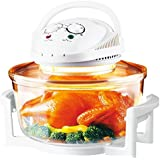12 Litre 1400w 2 in 1 Halogen Convection Oven Dehydrator Healthy Kitchen Cooker Shopmonk