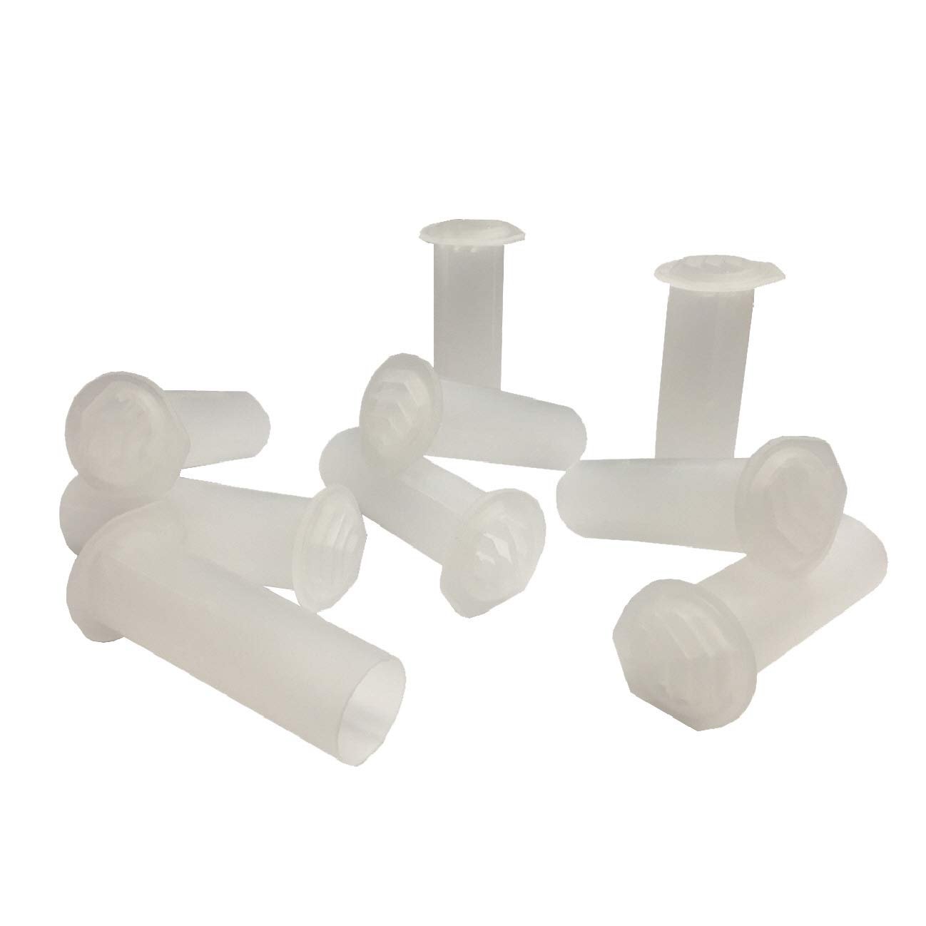 50 x Natural Clear Drill Weep Vents Round Venting System Cavity / Retaining Walls Wall Manthorpe