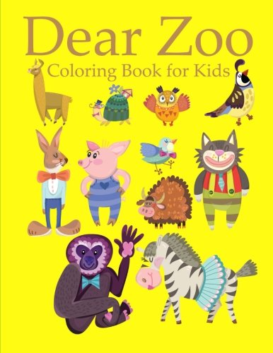Download Dear Zoo Coloring Book For Kids Pdf
