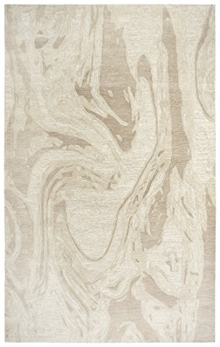Rug Avenue Fifth - Rizzy Home FTHFA174B00040508 Fifth Avenue Area Rug 5' x 8' Beige