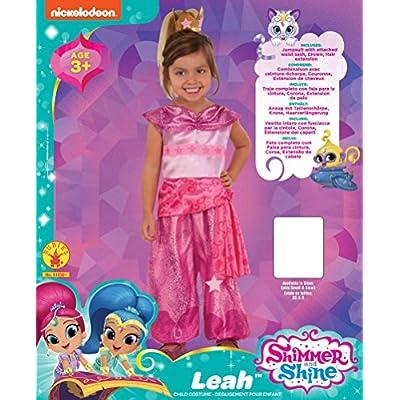 Rubie's Child's Shimmer & Shine Leah Costume, Medium: Toys & Games