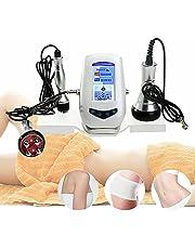 Anti-cellulitis massageapparaat 3-in-1 ultrasone cavitatie RF lichaamsmassageapparaat vetverbranding afslanken machine anti-aging gezicht huidverjonging machine voor huidversteviging, gewichtsverlies