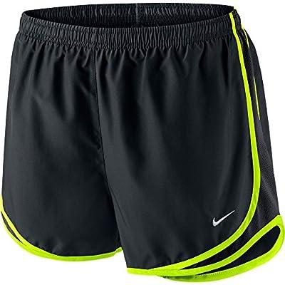 "Nike Womens Tempo Running Shorts 3"" Inseam Black/Volt Size Small"