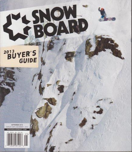 (Snowboard Magazine September 2012 (2013 Buyer's Guide))