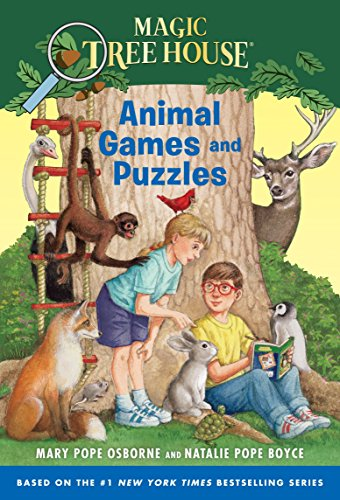 Animal Games and Puzzles (Magic Tree House (R)) (Magic Tree House Movie)
