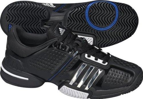 Adidas Barricade 6.0 - Zapatillas de tenis (talla 50), color negro, plateado y azul: Amazon.es: Zapatos y complementos
