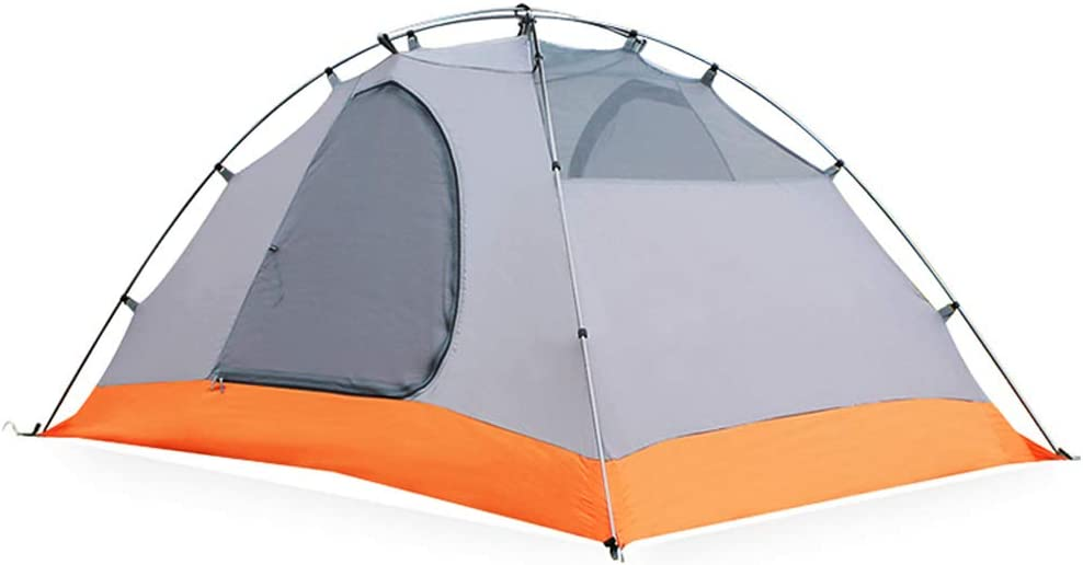 Tienda 200x140x100cm, para Camping Playa Senderismo Doble Piel 1 habitacion para Individual O 2 Personas Impermeable Ultraligero Cuatro Estaciones Hidraulico Carpa blue