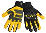 Stanley S77874 Grain Goatskin Palm with PVC Reinforcements and an Air Mesh Breathable Back, X-Large