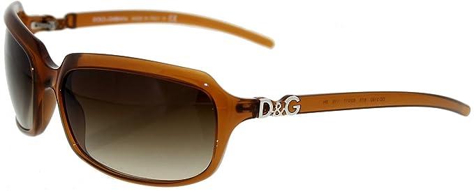 5c3b61667de Image Unavailable. Image not available for. Colour  Dolce   Gabbana Women s  Gradient DD2192-875-62 Brown Rectangle Sunglasses