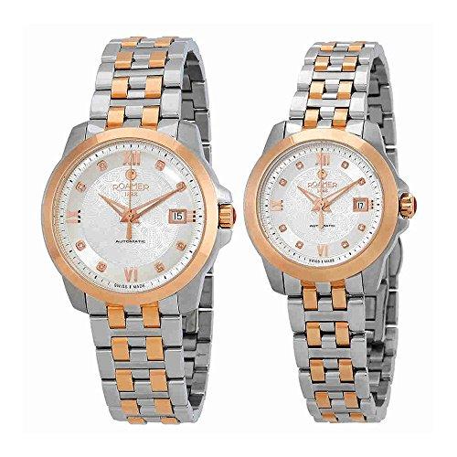 Roamer Unisex Wrist Watch Automatic Jubilee Set 945000 49 19 90