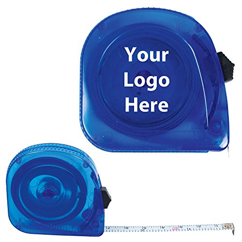 (10 Ft. Translucent Tape Measure - 150 Quantity - 1.85 Each - PROMOTIONAL PRODUCT/BULK/BRANDED with YOUR)
