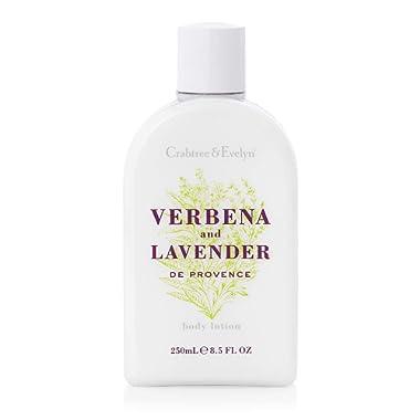 Crabtree & Evelyn Body Lotion, Verbena and Lavender de Provence, 8.5 Fl Oz