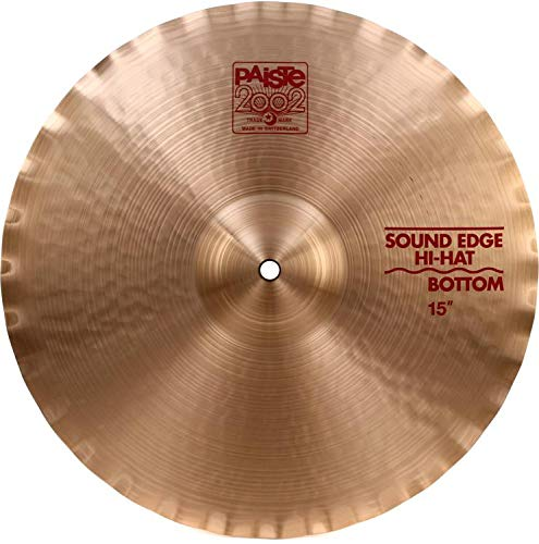 Paiste 15 Inches 2002 Sound Edge Hi-Hat Bottom Cymbal by Paiste