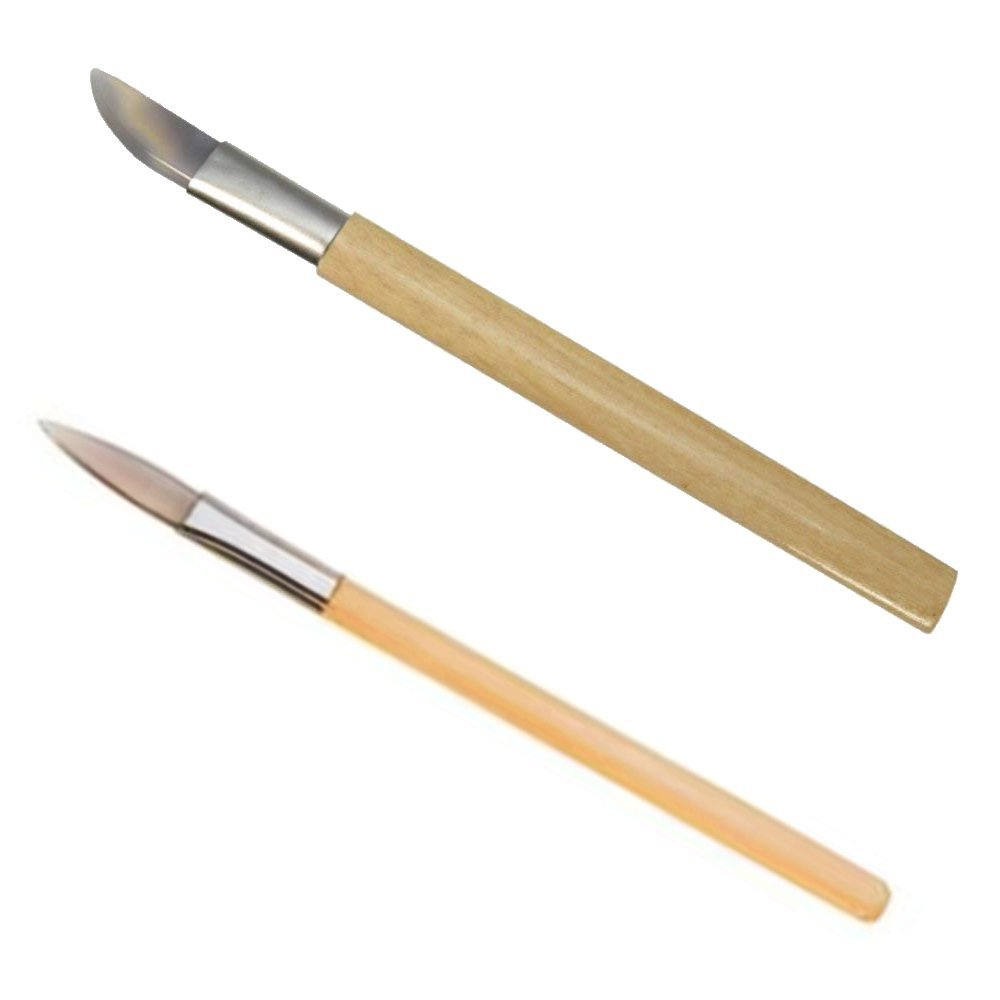 2 Agate Burnishers Bezel Gold Silver Leaf Tools Bookbinders Ramelson x2agate