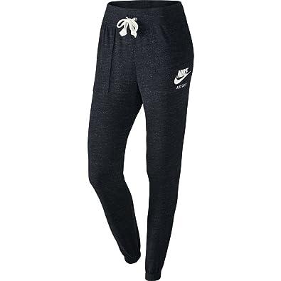 Nike Womens Gym Vintage Pants BlackSail 726061 010 Size X