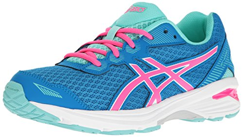 Price comparison product image ASICS Girls' GT-1000 5 GS Running Shoe, Diva Blue/Pink Glow/Aqua Splash, 6 M US Big Kid