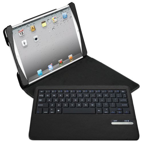 Naztech Sleek Portfolio for iPad Air with Detachable Bluetooth Keyboard (12775)