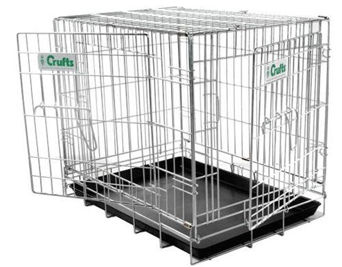 Crufts 43  Dog Crate  43 x 27.5 x 30 ins high