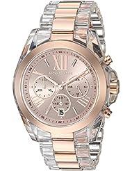 Michael Kors Womens Bradshaw Rose Gold-Tone Watch MK6358