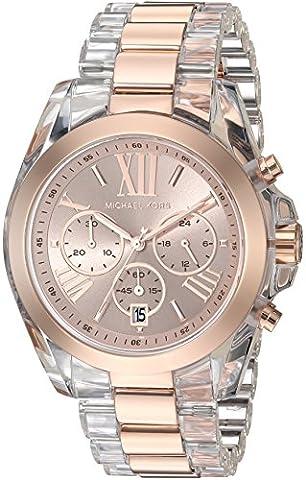Michael Kors Women's Bradshaw Rose Gold-Tone Watch MK6358 (Michael Kors Bradshaw Watch 43mm)
