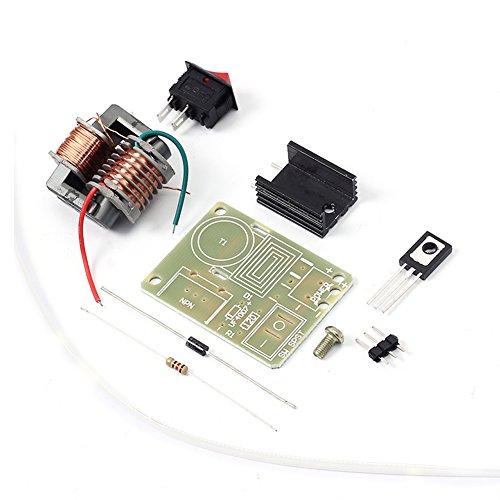 Icstation DIY 15KV 15000V High Voltage Arc Generator Electric Lighter Ignition Coil Assemble Kit