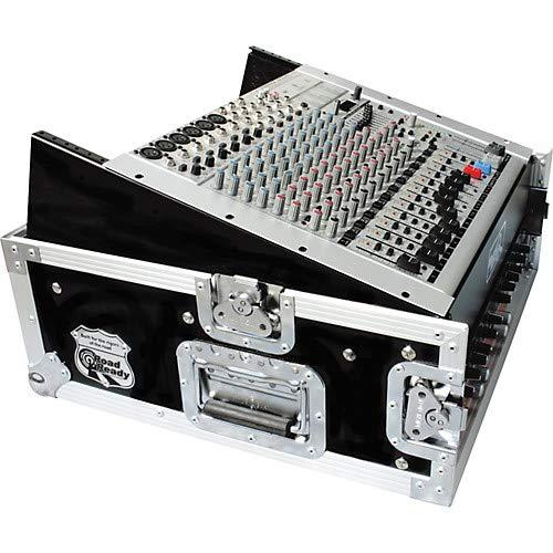 10U Slant Mixer Rack, 2U Vertical -