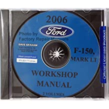 2006 FORD F-150 TRUCK, PICKUP FACTORY WORKSHOP MANUAL On CDrom - REPAIR SERVICE MAINTENANCE