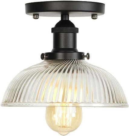 Ganeep American Loft Industrial Decor LED Lámpara de techo