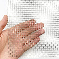 Stainless Steel Woven Wire Mesh Roll, Me...